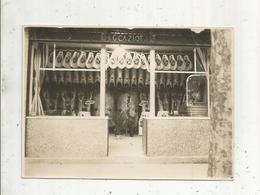 Photographie Louis Michel,  STAINS ,  175 X 125 Mm ,  Métier , Boucherie G. CAZIOT ,2 Scans,  Frais Fr 1.65 E - Berufe