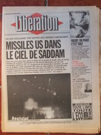 Journal Libération (18 Janv 1993) Guerre Irak - La Saga Habitat - Tabac - Sarajevo - 7 D'Or - Zeitungen