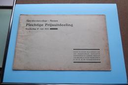 St. ALOYSIUSCOLLEGE > MEENEN ( Plechtige Prijsuitdeeling ) Donderdag 27 Juli 1933 ( Zie Foto's ) ! - Diplômes & Bulletins Scolaires