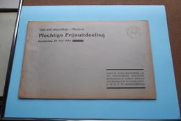 St. ALOYSIUSCOLLEGE > MEENEN ( Plechtige Prijsuitdeeling ) Donderdag 26 Juli 1934 ( Zie Foto's ) ! - Diploma & School Reports