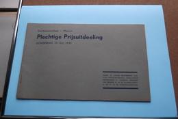 St. ALOYSIUSCOLLEGE > MEENEN ( Plechtige Prijsuitdeeling ) Donderdag 25 Juli 1935 ( Zie Foto's ) ! - Diplômes & Bulletins Scolaires