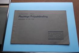 St. ALOYSIUSCOLLEGE > MEENEN ( Plechtige Prijsuitdeeling ) Woensdag 29 Juli 1936 ( Zie Foto's ) ! - Diplômes & Bulletins Scolaires