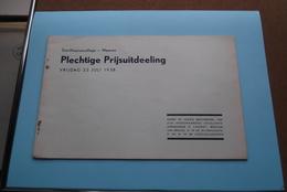 St. ALOYSIUSCOLLEGE > MEENEN ( Plechtige Prijsuitdeeling ) Vrijdag 22 Juli 1938 ( Zie Foto's ) ! - Diplômes & Bulletins Scolaires