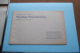 St. ALOYSIUSCOLLEGE > MEENEN ( Plechtige Prijsuitdeeling ) Donderdag 20 Juli 1939 ( Zie Foto's ) ! - Diplômes & Bulletins Scolaires