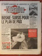 Journal Libération (13 Janv 1993) Bosnie - Science Allemande Et Nazisme - Moscou Enfants De La Rue - Dracula/Coppola - Zeitungen