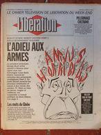 Journal Libération (2/3 Janv 1993) Désarmement Nucléaire - Vendée Globe - Double Page Centrale Willem - Coltrane - Zeitungen