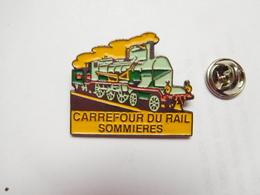 Beau Pin's En Relief , Transport Train SNCF , Carrefour Du Rail , Sommiéres , Gard - Transportation