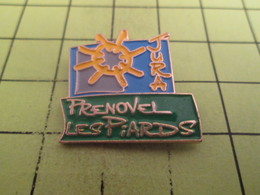 1012b Pin's Pins / Beau Et Rare : THEME : VILLES / JURA PRENOVEL LES PIARDS - Cities