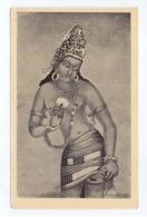 Copy Of Bodhisattva Padmapani Wall Painting In Buddhist Rock Cut Cave Monuments Of Ajanta At Aurangabad, Lot # IND 825 - India