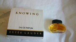 Miniature De Parfum Estée Lauder Knowing Eau De Parfum - Miniatures Modernes (à Partir De 1961)