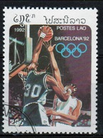 Laos 1992 Single 285K Stamp From The Olympic Games 4th Issue  Set. - Laos