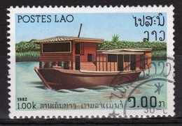 Laos 1982 Single 1K Stamp From The River Craft Set. - Laos