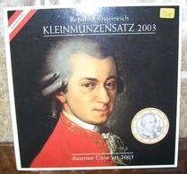 EURO SET COMPLET AUTRICHE 2003 - Autriche