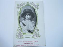Maison HOURIEZ-EVRARD - Nouveautés, Confections Pour Dames, Modes, Parapluies - N° 2 (un Jeune Vieux) - Bavay