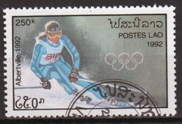 Laos 1992 Single 250K Stamp From The Winter Olympic Games 4th Issue Set. - Laos