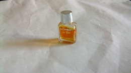 """Miniature De Parfum Yves St Laurent """" Rive Gauche  """" Hauteur  3 Cm - Vintage Miniatures (until 1960)"""