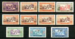 SENEGAL - 87/90 + 91/94 + 95 + 97 + 98 - 11 Valeurs - Neufs N* - Très Beaux - Senegal (1887-1944)