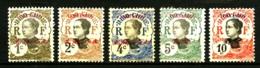 YUNNANFOU - 33 à 37 - 5 Valeurs - Neufs N* - Très Beaux - Yunnanfou (1903-1922)
