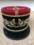 Képi De Cérémonie Général De Brigade No 1 - Casques & Coiffures