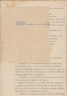 Cour D'Appel D'Alger. Meurtre à Plusieurs D'un Sergent Chef De La Légion étrangère Pour Lui Dérober 2000 Francs. - Militaria