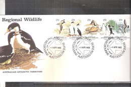 FDC AAT - Regional Wildlife - 1983 - Complete Set (to See) - FDC