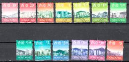 Hong Kong 1997 Mi Nr 789 - 801, Skyline Hong Kong, Compleet - 1997-... Région Administrative Chinoise