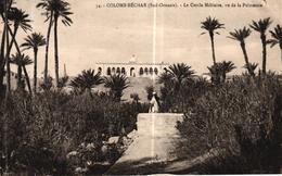 ALGERIE - COLOMB BECHAR SUD ORANAIS - LE CERCLE MILITAIRE VU DE LA PALMERAIE - Bechar (Colomb Béchar)