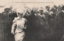 Rare Cpa Circuit D'Auvergne Coupe Gordon Benett 1905 Théry Vainqueur De La Coupe - Sport Automobile