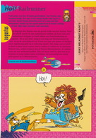 RAILRUNNER - N.V. Nederlandse Spoorwegen - (Augustus 1995 - Pennie Rekening, Postbank N.V. Pennierekening, Amsterdam) - Andere