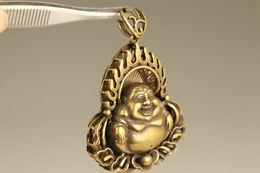 COULEUR  Bronze Pendentif  De Bouddha - Pendants