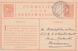 PAYS-BAS 1927  ENTIER POSTAL/GANZSACHE/POSTAL STATIONERY CARTE DE MIDDELBURG - Postal Stationery
