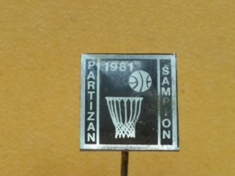 List 119 - Basketball Club Partizan, Belgrade, Beograd, Sampion 1981, Champion - Basketball