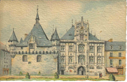 49 Saumur L'Hôtel De Ville En 1942 Illustrateur Barday - Barday