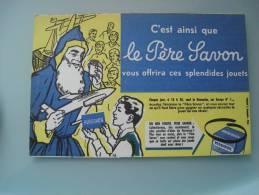 Buvard Publicitaire Le Pere Savon - Buvards, Protège-cahiers Illustrés
