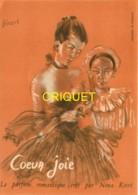Publicité Années 1940-50 Pour Les Parfums Nina Ricci, Coeur Joie, Illustrée Par Bérard - Publicité