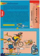 RAILRUNNER - N.V. Nederlandse Spoorwegen - (Februari 1996 - Pennie Rekening, Postbank N.V. Pennierekening, Amsterdam) - Andere