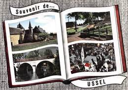 Souvenir De ... USSEL - Vues Multiples - Livre Ouvert - Ussel