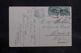 ALLEMAGNE - Oblitération Ambulant Sur Carte Postale Pour La Belgique En 1913 - L 34716 - Germany