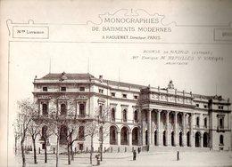 Monographies De Bâtiments Modernes N° 74 : Bourse De Madrid (Espagne) - Architecture