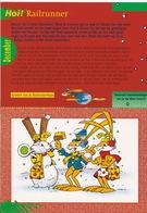 RAILRUNNER - N.V. Nederlandse Spoorwegen - (December 1996 - Schaatsroute Railrunner Naar Zijn Sneeuwhaas - Labyrint) - Andere