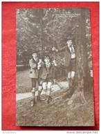Les Princes Charles Théodore  De Belgique , Luitpold Et Albert De Bavière  -  1913 - Familles Royales