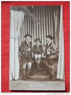 Les Princes Léopold De Belgique , Luitpold Et Albert De Bavière  -  1913 - Familles Royales