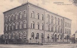 Osnabruck Gymnasium Old German Postcard - Unclassified