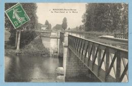 A111  CPA  BOLOGNE (Haute-Marne)  Le Pont-Canal Et La Marne   ++++++ - Autres Communes