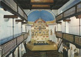 AINOHA. L'intérieur De L'église.  (scan Verso) - Ainhoa