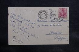 ALLEMAGNE - Oblitération Ambulant Sur Carte Postale De Strasbourg Pour La Belgique En 1912 - L 34733 - Germany
