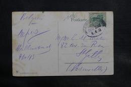 ALLEMAGNE - Oblitération Ambulant Sur Carte Postale De Brocken Pour La Belgique En 1913 - L 34734 - Covers & Documents