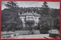 Cpa 25 PONT DE ROIDE Le Chateau Adresse Gendarme - Frankrijk