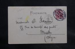 ALLEMAGNE - Oblitération Ambulant Sur Carte Postale De Hannover Pour La Belgique En 1902 - L 34735 - Deutschland