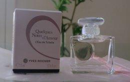 QUELQUES NOTES D' AMOUR - EDP 5 ML De YVES ROCHER - Modern Miniatures (from 1961)